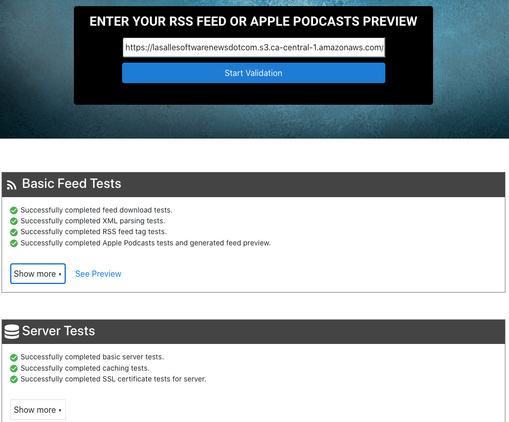 Inaugural Podcasts Published!